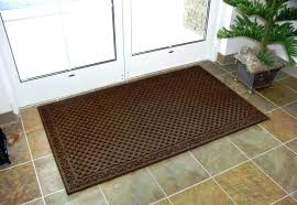inside front door rug fantasy low profile microfiber mats at brookstone now indoor pertaining to 12