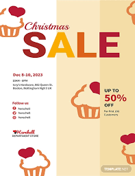 bake sale flyer templates free christmas bake sale flyer template in adobe photoshop