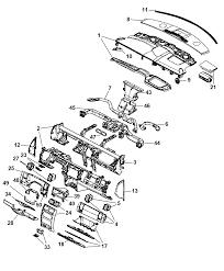 2007 chrysler aspen instrument panel diagram i2170417