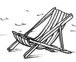 How to draw a deck chair real easy Shoo Rayner Author