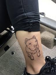 Pitbull Tattoo Outline Dog My Uploads Tattoos Dog Tattoos