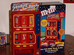 MM Candy Vending Machine Extraordinary MM'S CANDY VENDING MACHINE AND BANK FOR AGES 48 TO 488 564861993