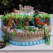 aliexpress com buy 6 pieces one set dinosaur cake decorating