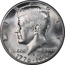 1976 Half Dollar Value Chart United States 1976 Bicentennial Kennedy Half Dollar