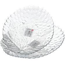 <b>Тарелка десертная</b> стеклянная, 2 шт, 180х230 мм, Sultana ...