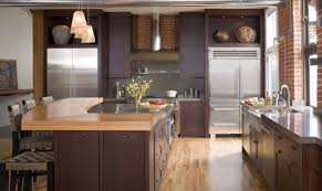 Wood Surface Kitchen Island With Storage And Barstools Glossy Surface Kitchen  Countertop With Sink And Faucet