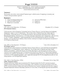 Financial Analyst Resume Examples Resume Letter Directory