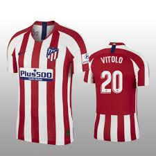 Fifa 19 atlético de madrid kit. Vitolo Jersey Atletico Madrid Home 19 20 Men S Short Sleeve