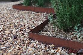 what metal is best for landscape edging