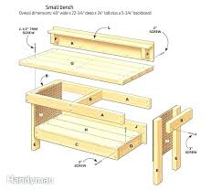 kid wood workbench the design confidential article of furniture plans how to build a diddle kid wood workbench