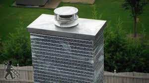 metal chimney flue modern