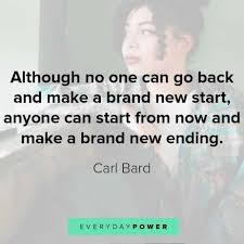 60 Quotes About New Beginnings And Starting Fresh 2019