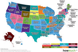Washington State Mileage Chart This Map Shows The Largest Export Of Every U S State In 2017