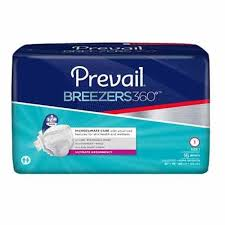 Prevail Breezers 360 Size Chart Prevail Breezers 360 Brief Size 1