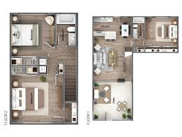 each 2 story and single story residence boasts an open concept floor plan and beautifully appointed details that form an elegant and refined home