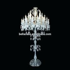 crystal standing lamp layers baccarat crystal chandelier floor lamp vintage pottery barn black standing lamps orb shade unique lighting large