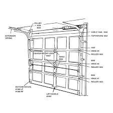 garage door lock handleGarage Door Hardware Chart  Barton Kramer Inc