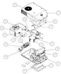 Caravansplus spare parts diagram coleman mach 8 roof top air