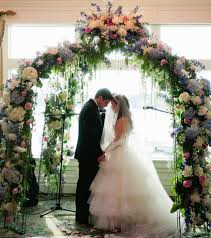 indoor wedding arches. http://dyal.net/wedding-flower-arches wedding flower archway indoor arches