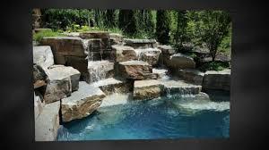 Diy Pool Waterfall Pool Waterfall Designs Part 1 Pool Design And Build Youtube