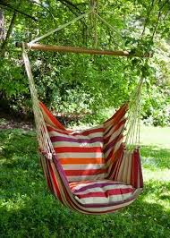 swing hammock chair outdoor areas
