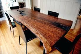 rustic furniture edmonton. Rustic Wood Tables Dining Room Live Edge Slab Pipe Table Edmonton Furniture