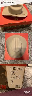 Stetson D4 Ranch 5x Tan Cowboy Hat Stetson D4 Ranch Tan 5x