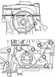 SOLVED: Where are the timing marks to a 2002 mitsubishi - Fixya