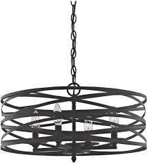 elk 81185 4 vorticy light 20 inch oil rubbed bronze chandelier regarding remodel 13