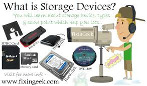 data storage devices what is storage devices