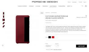Porsche Design Website Huawei Mate Rs Porsche Design Leather Flip Cover Review
