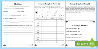 homework word year 2 spelling practice common exception words 2 homework