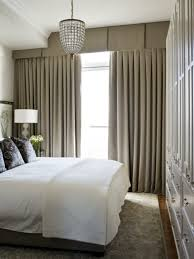 Small Bedroom Chandelier Small Bedroom With Long Curtains And Pleated Valances With Hanging