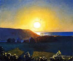 rockwell kent paintings for sun mañana monhegan