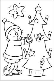 Kleurplaat Pompom Kerstmis Crafts Christmas Kerstmis Peuter
