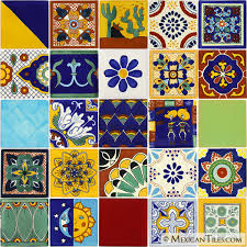 6X6 Decorative Ceramic Tile Mexican Tile Decorative Talavera Mexican Tile 50