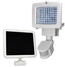 HPM 2 X 1100lm Twin LED Security Light With Sensor  Bunnings Hpm Solar Security Light