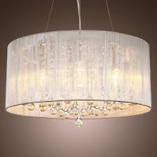 cheap drum pendant lighting. wonderful modern crystal pendant light in cylinder shade drum style home lighting with crystals cheap