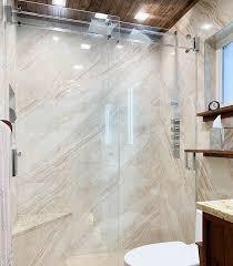 sliding glass shower doors bathroom