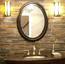wall mirror with lights wall mirrors bathroom wall mirrors oil rubbed bronze oval bathroom mirrors