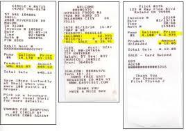 Travel Receipt Requirements Department Of Procurement Contract