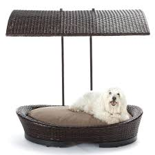 best outdoor dog bed wicker dog bed with shade outdoor pet bed diy