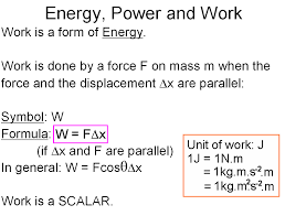 Work Energy And Power Physical Sciences Break 1 0