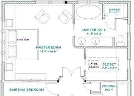 Master Bathroom Dimensions New Inspiration Design