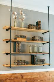Industrial Bookcase Diy Best 25 Galvanized Pipe Shelves Ideas That You Will Like On