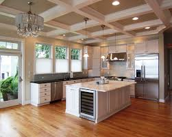 coffered ceiling lighting. Ceiling Light Fixture Kitchen Traditional With Coffered Lighting