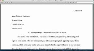 Mla Sample Paper Mla Style Tutorial General Format Introduction Youtube