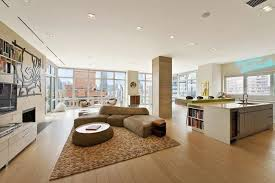 20 apartments with open floor plans
