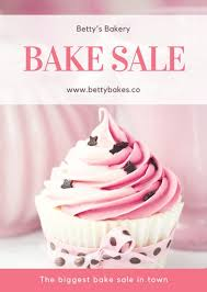 Cupcake Ideas For Bake Sale Customize 354 Bake Sale Flyer Templates Online Canva