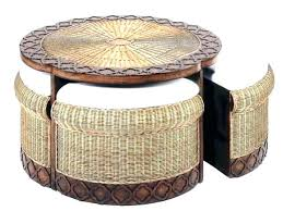 outdoor wicker storage coffee table outdoor wicker coffee table outdoor wicker storage ottoman incredible furniture round